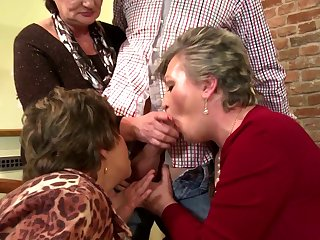 Mature moms humiliated and fucked by..