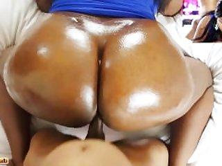 Ebony Glazed Doughnut Butt Getting..