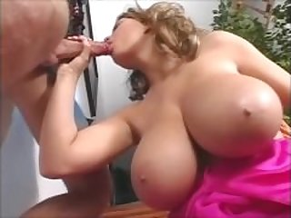 Huge Natural Tits milf stepmom anal..