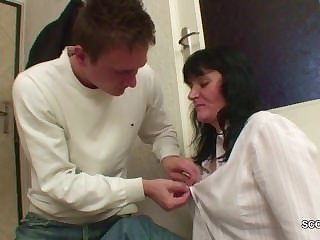 Young Boy Seduce homeless MILF Mother to..