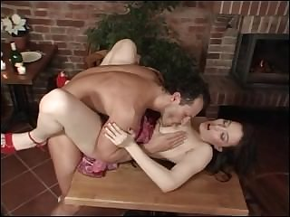 Big Boobs Stepmom Force Fucked On A Table