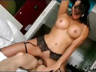 Amateur Latin Mom and Boytoy