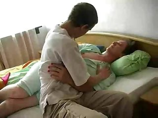 Horny Old Granny Fucks Young Cock And..